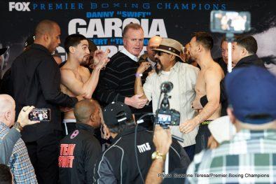Amir Mansour Aron Martinez Danny Garcia Dominic Breazeale Robert Guerrero Sammy Vasquez Boxing News Top Stories Boxing