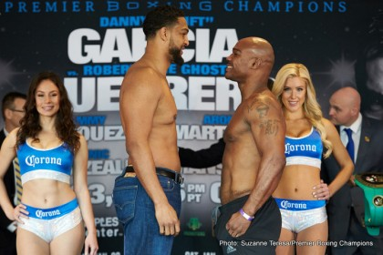 Staples Centre, PBC, Weigh Ins