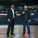 David Haye, Mark de Mori - 'David Haye was appearing on the new series of The Clare Balding Show which airs tomorrow at 8.00pm on BT Sport 1.'