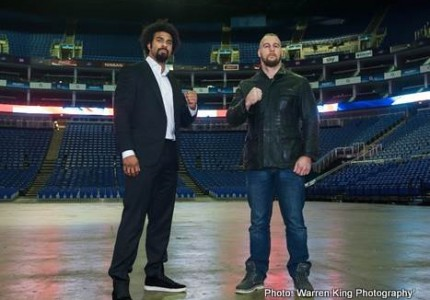David Haye Quotes ahead of their appearance on Clare Balding show
