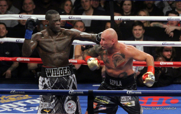 """Deontay Wilder - He's got a big mouth and he's not afraid to use it. No, not Tyson Fury, but another unbeaten heavyweight: New York's Jarrell Miller. Miller is a colorful talker and fighter with power, and he is slowly building up a fan base with his trash-talking and his impressive KO wins. The latest to come under attack - of the verbal kind - from """"Big Baby,"""" as Miller is curiously nicknamed, is reigning WBC heavyweight king Deontay Wilder."""