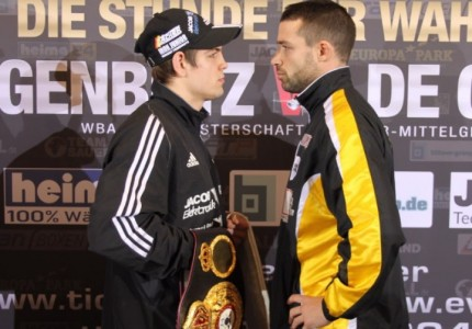 Feigenbutz-De Carolis Weigh-In Results & Video