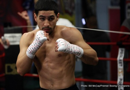 Danny Garcia ready to defend WBC welterweight title against former champ Andre Berto