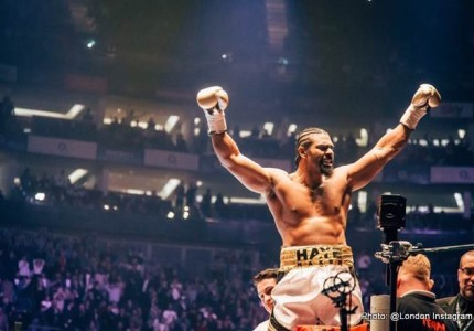 "David Haye: ""This is just the beginning of the road back to regaining the heavyweight championship of the world"""
