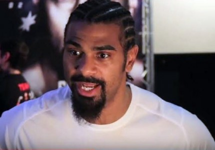 David Haye confirms that he is negotiating with Lucas Browne