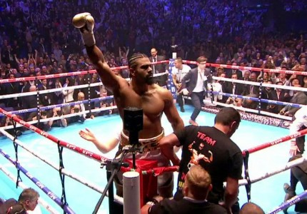 David Haye obliterates Mark De Mori in 1st round TKO
