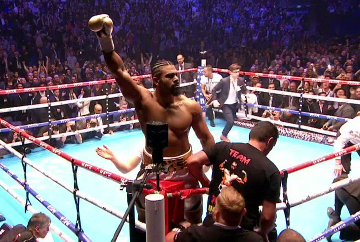 Mark de Mori - As expected, 35-year-old David Haye (27-2, 25 KOs) put in a big statement on Saturday night in blowing out heavyweight contender Mark De Mori (30-2-2, 26 KOs) by a 1st round knockout at the O2 Arena in London, England.