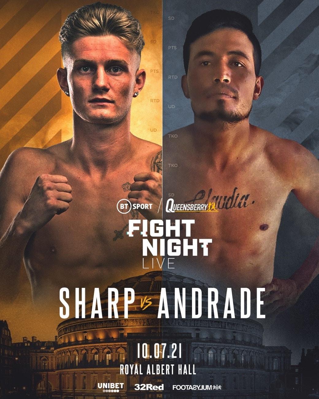 Archie Sharp - British Boxing