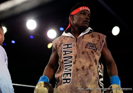 Lubin ready for the ring in Saturday's Boxing World Title eliminator match