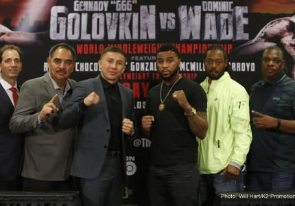Golovkin-Wade tickets selling fast