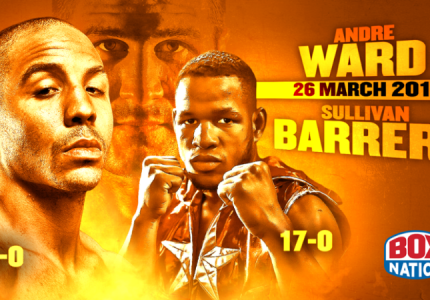 Andre Ward – Sullivan Barrera live and exclusive on BoxNation