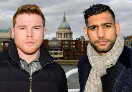 Canelo-Khan press conference on Monday in London, UK