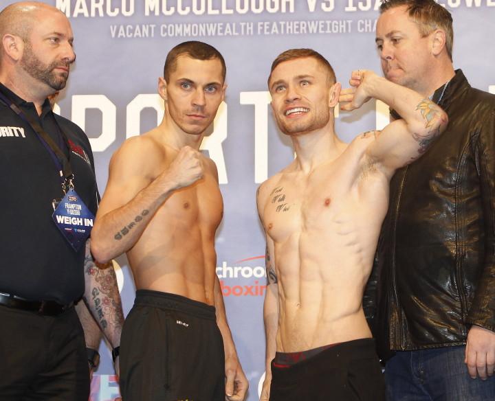 Carl Frampton Scott Quigg Boxing News