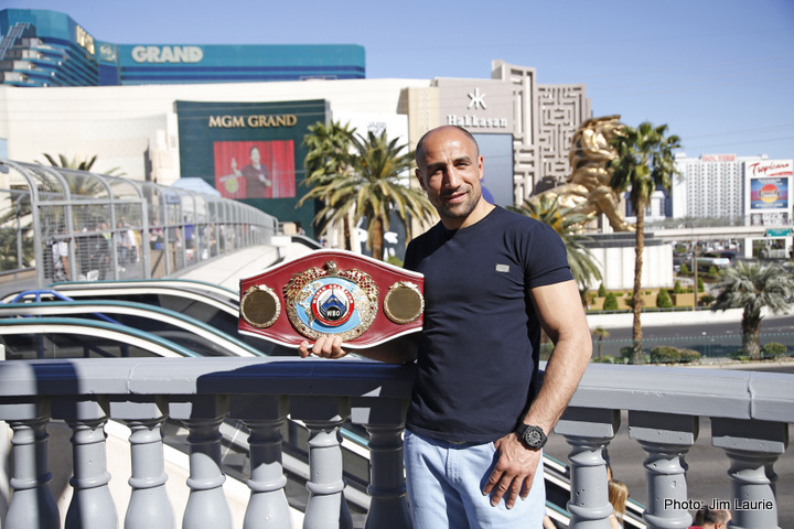 Arthur Abraham, Gilberto Ramirez - Arthur Abraham (44-4, 29 KOs) is promising his best ever performance when he steps through the ropes to defend his WBO World Super Middleweight title against Gilberto Ramirez (33-0, 24 KOs) on Saturday night at the MGM Grand in Las Vegas.