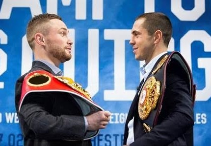 Frampton and  Quigg meet face-to-face in tense The Gloves Are Off ahead of anticipated thriller