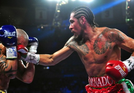Antonio Margarito battles Jorge Paez Jr. on March 5