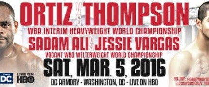 Luis Ortiz and Tony Thompson talk March 5th fight