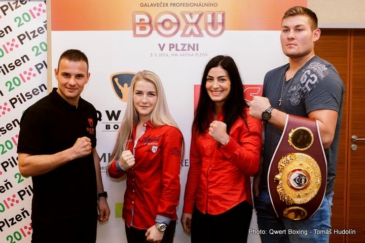 Tom Schwarz - A great boxing gala in Pilsen. Bytyqi, Sedláčková, Schwarz and… Pála!