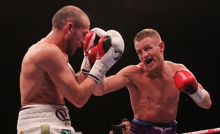 Derry Mathews Terry Flanagan Boxing News Boxing Results