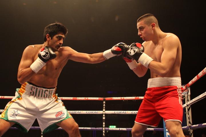 Alexander Horvath Vijinder Singh Boxing News Boxing Results