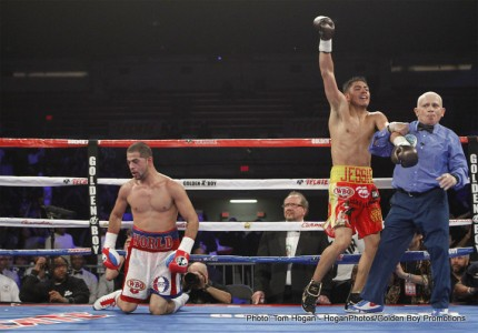 Vargas stops Ali – Ortiz defeats Thompson