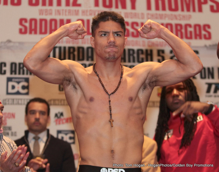 Jessie Vargas, Manny Pacquiao - He may have lost out on a big unification meeting with IBF champ Kell Brook, but reigning WBO welterweight champion Jessie Vargas believes he is on the verge of a much bigger fight: one with the soon to return Manny Pacquiao. As fans have read, superstar Pacquiao is, according to his promoter Bob Arum, set to return to action in November, in Las Vegas. Vargas, 27-1(10) and beaten only by Pacquiao common opponent Tim Bradley, told media members in Vegas yesterday how he feels he is very close to getting the Nov. 5 date with Pac-Man.