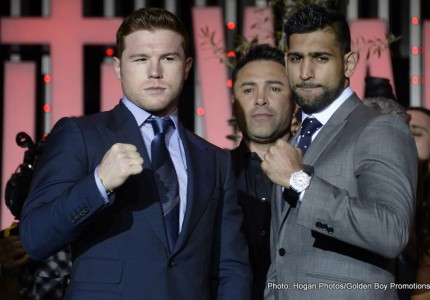 Canelo Alvarez – Amir Khan Live On BoxNation
