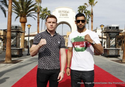 Canelo Alvarez vs Amir Khan: Big George on board for a possible Khan points win