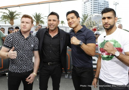 De La Hoya challenges Donald Trump to come see firsthand 'what Mexicans and Muslims can achieve'