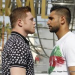 Saul Alvarez - Let's face it, many numbers of fight fans are likely to buy the May 7th Canelo Alvarez-Amir Khan fight; perhaps even close to a million fans in the U.S alone. The fight has, and is, attracting plenty of attention, opinion and excitement, and a smash hit is likely. But, in wanting to guarantee fans a spectacular show, Golden Boy are currently working on making the under-card one that will give value for money.