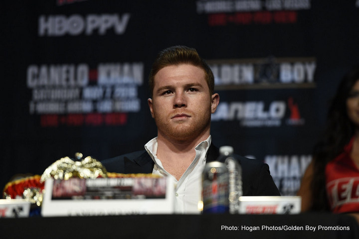"Amir Khan, Saul ""Canelo"" Alvarez - Boxing Interviews"