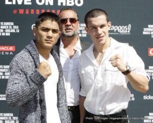 "Andre Ward, Joseph ""Jojo"" Diaz Jr., Sullivan Barrera - Boxing News"