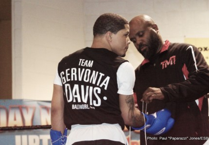 "Gervonta ""Tank"" Davis Holds Open Public Workout in Baltimore – Mayweather, More!"
