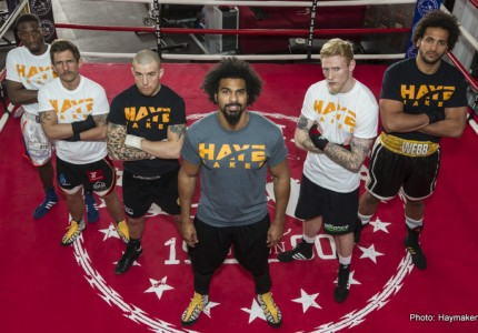 Haye claims Joshua would beat Tyson Fury now