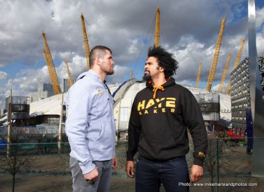 David Haye Boxing News British Boxing