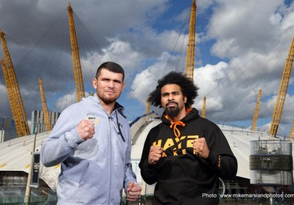 "Haye defends his choice of opposition: ""Gjergjaj is perfect preparation and then I'll look at a big fight with Briggs"""