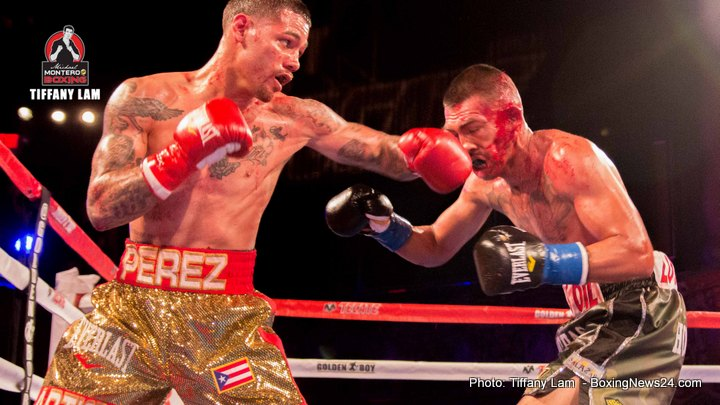 Martin Honorio Michael Angelo Perez Boxing News Boxing Results