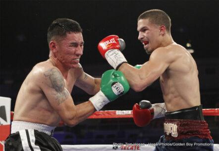 Jessie Vargas, Luis Ortiz, Sadam Ali, Tony Thompson - Boxing News