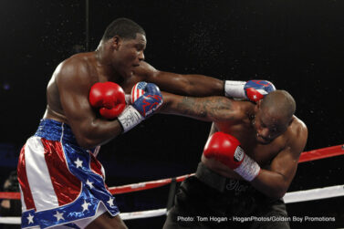 Jessie Vargas, Luis Ortiz, Sadam Ali, Tony Thompson - The DC Armory was alive with action as Luis Ortiz continued his charge on the heavyweight division against rugged veteran Tony Thompson.