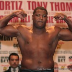 """Deontay Wilder - When I look at Deontay Wilder, I see an unsure, scared fighter. He's crazy with his technique and worried about being hit. When you are that worried about getting hit, when you do get hit, you usually get knocked out."""" Luis Ortiz"""