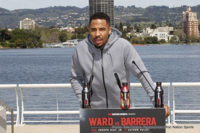 "Andre Ward Joseph ""Jojo"" Diaz Jr. Sullivan Barrera Boxing News"