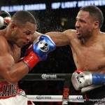 """Sullivan Barrera - Andre SOG Ward (28-0-0 15KO) of the Saturday night fight at the Oracle, Oakland, CA will have a difficult time with Sergey """"Krusher"""" Kovalev (29-0-1 26KO).  By his own admission, he graded his performance a B- grade.  Most would agree, anyone coming up against the devastating power of the Krusher better bring his A game."""