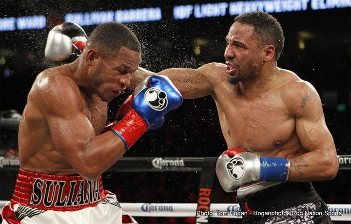 Andre Ward Sergey Kovalev Sullivan Barrera Boxing News