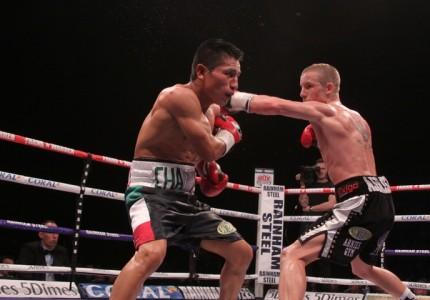 Paul Butler stops Sebastian Sanchez