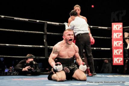 Antoine Douglas, Avtandil Khurtsidze, Julian Williams - Boxing News