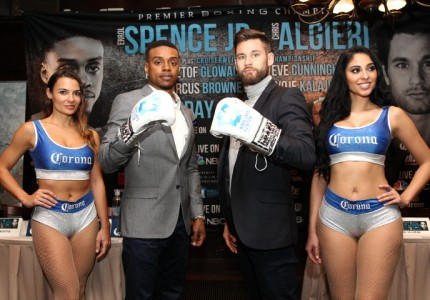 Errol Spence Jr and Chris Algieri talk about April 16 fight