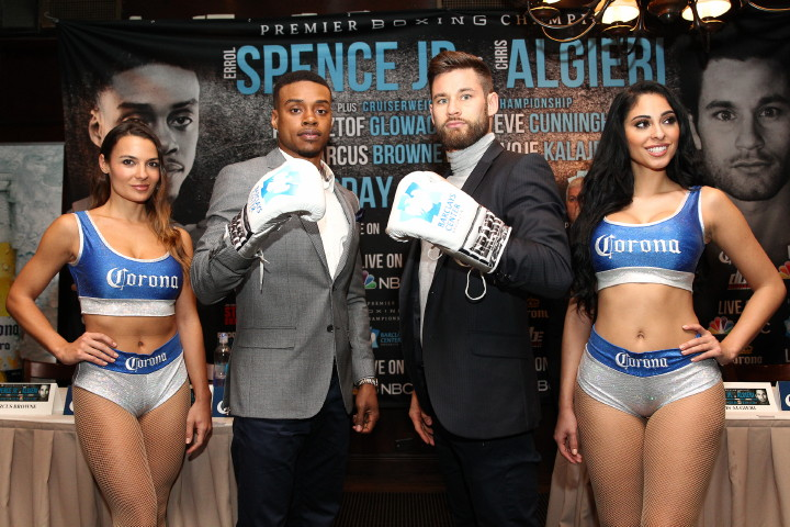 Chris Algieri, Errol Spence Jr., Marcus Browne, Steve Cunningham - Boxing News