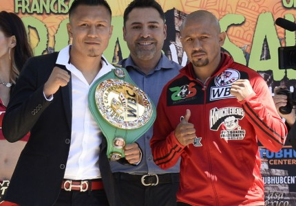 Francisco Vargas and Orlando Salido talk about their June 4 fight