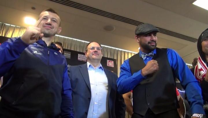 Eric Molina Tomasz Adamek Boxing News