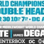 Badou Jack - NEW YORK (March 28, 2016) – A three-fight series to crown a unified divisional champion will begin on Saturday, April 30, when WBC 168-pound champion Badou Jack defends his title against former longtime titlist Lucian Bute, and IBF Champion James DeGale risks his belt against mandated challenger Rogelio Medina in a SHOWTIME CHAMPIONSHIP BOXING doubleheader live on SHOWTIME (10 p.m. ET/7 p.m. PT) from the DC Armory in Washington D.C.